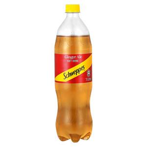 Schweppes Ginger Ale Plastic Bottle 1l