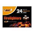 BIC Firelighters Pre-cut Cubes 24s