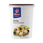 Clover Traditional Feta Cheese with Black Pepper 400g