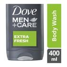 Dove Body Wash For Men Extra Fresh 400ml
