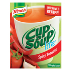 Knorr Cup-A-Soup Lite Spicy Tomato 4s