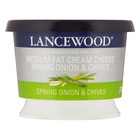 Lancewood Cream Cheese with Spring Onion & Chives 230g