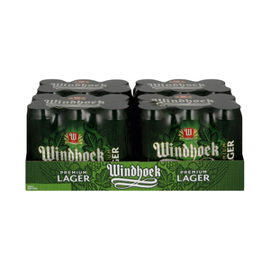 Windhoek Lager Cans 440ml x 24