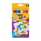 BIC Kids Aquacouleur Pencils 12ea