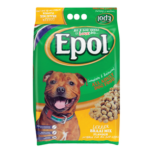 Epol Dry Dog Food Braai Mix Flave 8kg