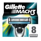Gillette Mach 3 Razor Blades 8s