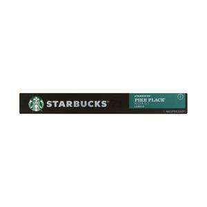 Starbucks® Pike Place® Roast by Nespresso® Medium Roast Coffee 10 Capsules