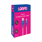 LOOPD Micro USB To USB CABLE 1.2m WHite