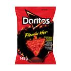 DORITOS FLAMIN HOT NACHO CHEESE 145GR