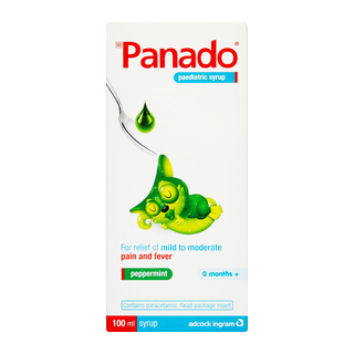 Panado Paediatric Peppermint Syrup 100ml