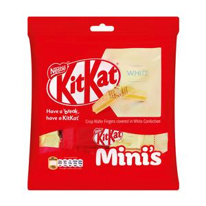 Nestle Kit Kat Mini Bag White 200g