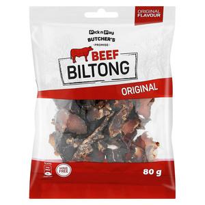 PnP Sliced Beef Biltong 80g