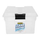 Addis Clear Storage Bin 28l