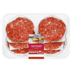 PnP 100g Beef Burgers 8s