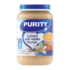 PURITY Jar Custard with Vanilla Flavour 200mlfrom 8 Months