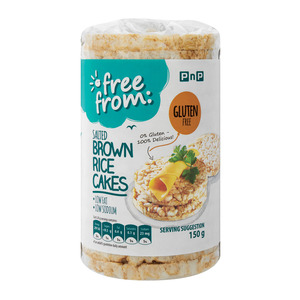 PnP Salted Brown Rice Cakes 150g