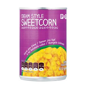 PnP Cream Style Sweetcorn 420g