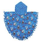 Real Home Beach Towel Round Poncho Shark 70x120cm