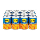 Koo Choice Grade Peach Slices 410g x 12