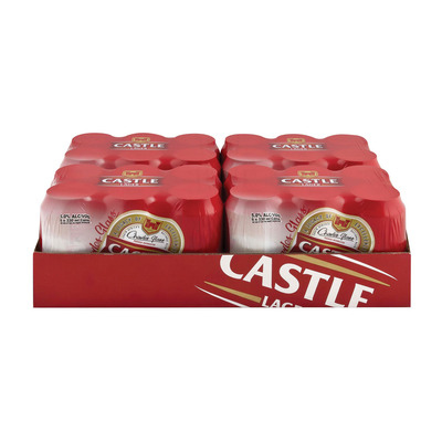 1dad354e952a Castle Lager Beer Can 330ml x 24 | Case | Unit of Measure | Pick n ...