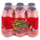 Steri Stumpie Strawberry Flavoured Low Fat Milk 350ml x 6