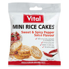 Vital Mini Rice Cakes Sweet & Spicy Pepper 30g