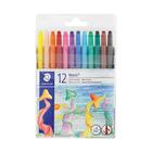 Staedtler Wax Twist Crayons 12ea