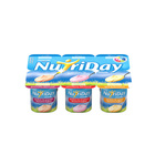 Danone Nutriday Smooth Strawberry, Granadilla & Apricot Yoghurt 100g x 6