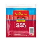 Enterprise Long Red Viennas 1kg