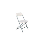 Basic Folding Chair White