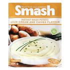 Smash Sour Cream And Chives 104g