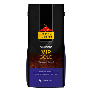 House of Coffees VIP Gold Medium Roast Ground Filter Coffee 250g