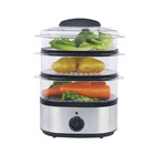 AIM Stainless Steel 3 Tier Steamer