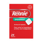 Rennie Spearmint Antacid Tablets 24s