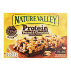 NATURE VALLEY PROTEIN PEANUT&CHOC 40GR x 4