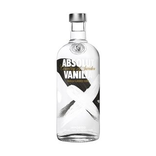 Absolut Vanilla Vodka 750ml x 12