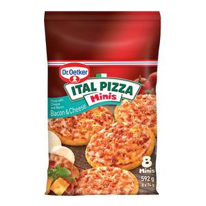 Ital Bacon & Cheese Mini Pizzas 8ea