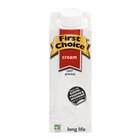 First Choice UHT Dessert Cream 250ml