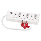 PnP Surge Multi Plug 6 Way 3+3