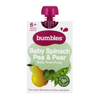 BUMBLES PUREE SPIN/PEA&PEAR 120GR