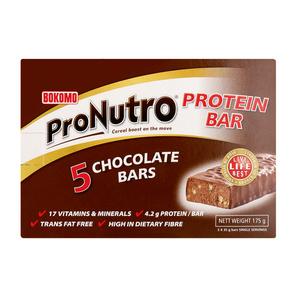 Bokomo Pronutro Chocolate Protein Bar 5s