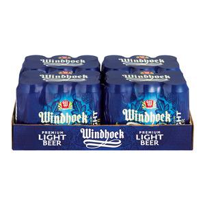 Windhoek Light Cans 440ml x 24