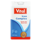 Vital Iron Tablets 100ea