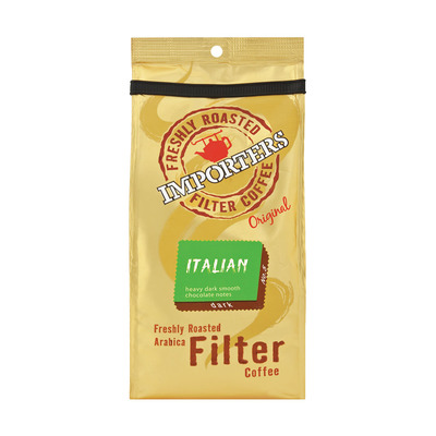 Importers Italian Ground Filter Coffee 250g | each | Unit of Measure