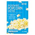 PnP Microwave Popcorn Salted 100g 6s