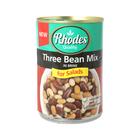 Rhodes Three Bean Mix In Brine 400gr
