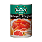 Rhodes Tinned Ruby Grapefruit In Syrup 410g