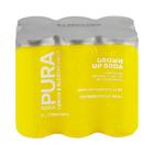 Pura Soda Lemon & Elderflower 330ml x 6