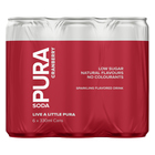 Pura Soda Cranberry 330ml x 6