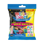 Mister Sweet Sour Glow Worms 125g